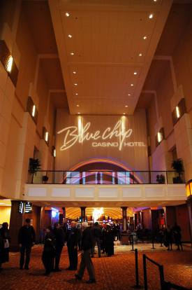 Opening Night at the new, improved BLUE CHIP CASINO HOTEL