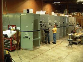 Atlantis Paradise Island generator control panels and switchgear